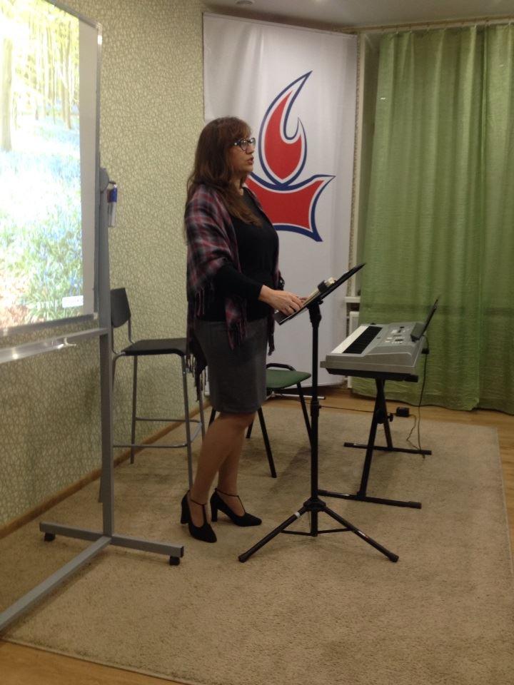 Нина Жарова делится словом