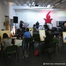 Завершающий день семинаров о пророческой живописи!